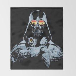 DJ Darth Vader Throw Blanket
