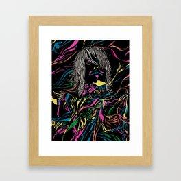 Feed your head Framed Art Print
