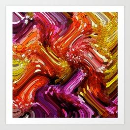 Dancing Rainbows Art Print