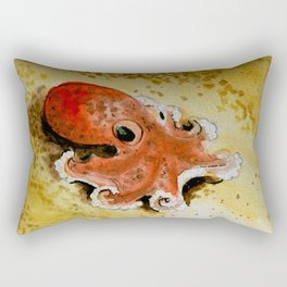 small octopus Rectangular Pillow