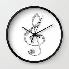 Sol key Wall Clock