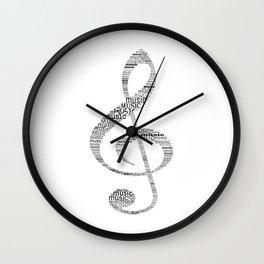 Sol key Wall Clock