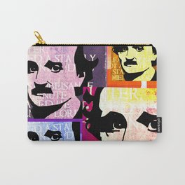 EDGAR ALLEN POE (FUNKY COLOURED 4-UP COLLAGE) Carry-All Pouch