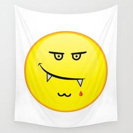 Vampire emoji Wall Tapestry