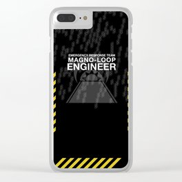 Magno-loop Engineer Clear iPhone Case