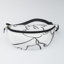 We Can Make it Rain Silver and Gold Fanny Pack