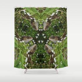 Tuatara : New Zealand Endemic Shower Curtain