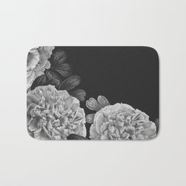 Flowers in the night Bath Mat