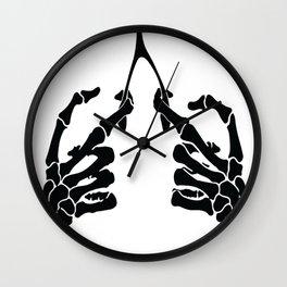 collarbone again Wall Clock