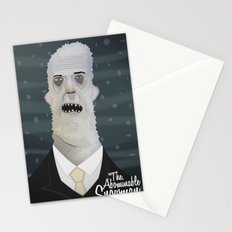 the Abominable snowman Stationery Cards
