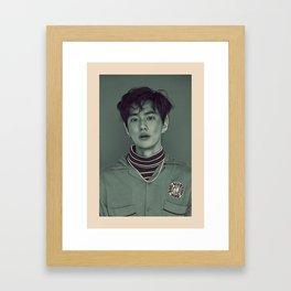 Elf Suho Framed Art Print