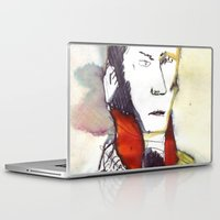 lawyer Laptop & iPad Skins featuring the lawyer man by seb mcnulty