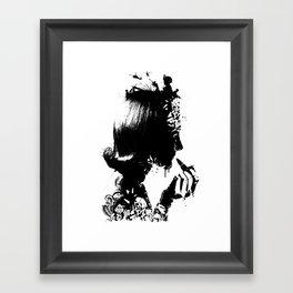WOMAN SOLDIER Framed Art Print