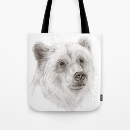 Grizzly :: A North American Brown Bear Tote Bag