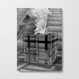 The Mysterious Box Metal Print