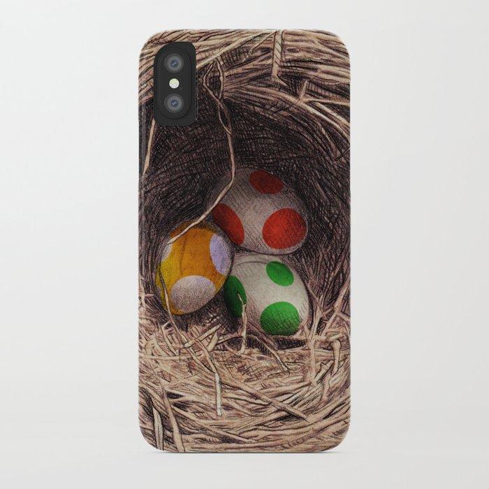 Yoshi Eggs iPhone Case