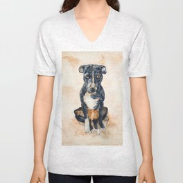 DOG #13 Unisex V-Neck