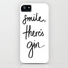 Smile - Gin Slim Case iPhone (5, 5s)