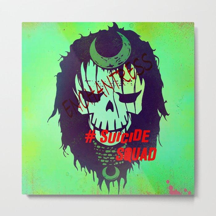 """ENCHANTRESS """"Suicide Squad"""" Metal Print"""