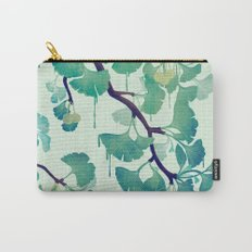 O Ginkgo (in Green) Carry-All Pouch