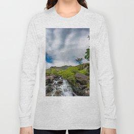 Cwm Idwal Rapids Snowdonia Long Sleeve T-shirt
