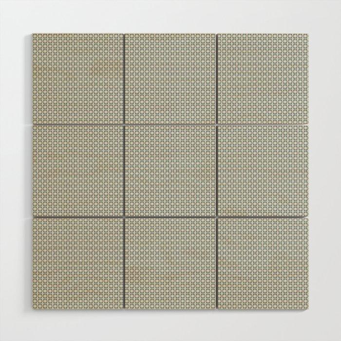 Basket Weave BG mini Wood Wall Art