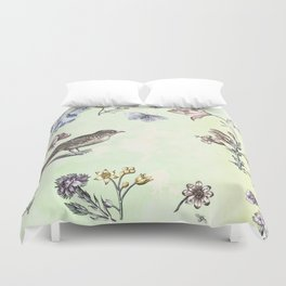 Nature is a temple Duvet Cover