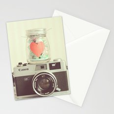 Vintage Camera Love  Stationery Cards