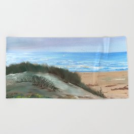 Lista-Norge by Gerlinde Beach Towel