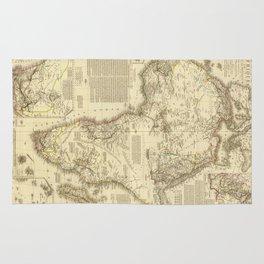Vintage Map of Africa (1828) Rug