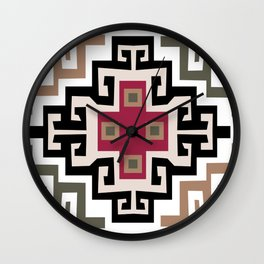 Inca Felling Wall Clock