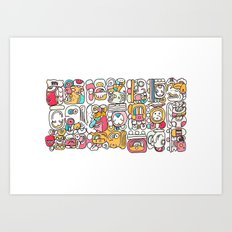 The Mayan Message Art Print
