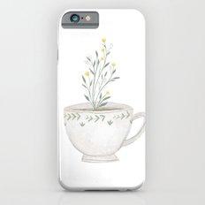 tea in bloom iPhone 6s Slim Case