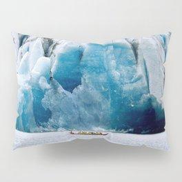 Ride to the Alaskan Glacier Pillow Sham