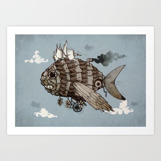 The Fleet Art Print