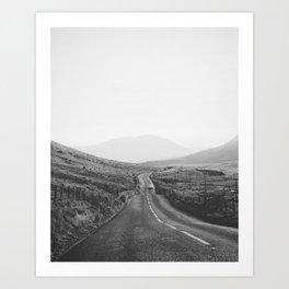 ON THE ROAD III Art Print