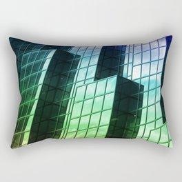 Colors of London Rectangular Pillow