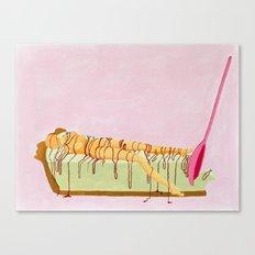 Pink Pie Canvas Print