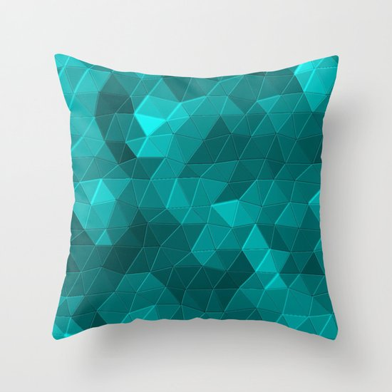 Kaleidoscope Series Crystal Throw Pillow