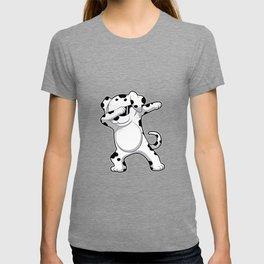 Dabbing Dalmatian T Shirt Funny Dab Dog T-shirt