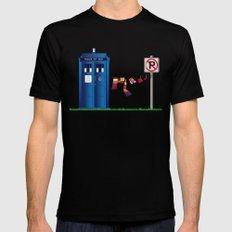 Doctor Who: tardis wardrobe  Mens Fitted Tee Black MEDIUM