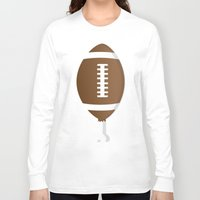 turkey Long Sleeve T-shirts featuring Turkey Day by PASKEYLAND