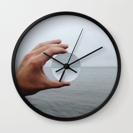 Convex Horizon Wall Clock