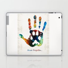 Rainbow Bridge Art - Never Forgotten - By Sharon Cummings Laptop & iPad Skin