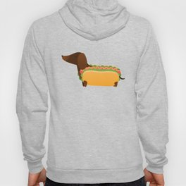 Wiener Dog in a Bun Hoody