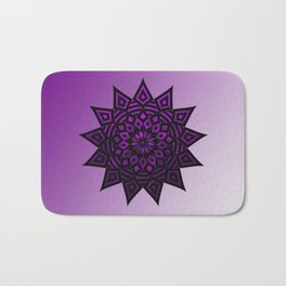 Purple Star | Tam Tam | Mandhala Bath Mat