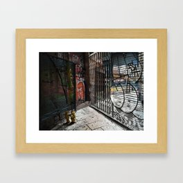 Force the corners, and horn in on the commotion, 6 Framed Art Print