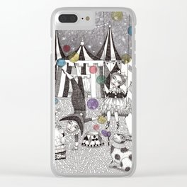 Night Carnival Clear iPhone Case