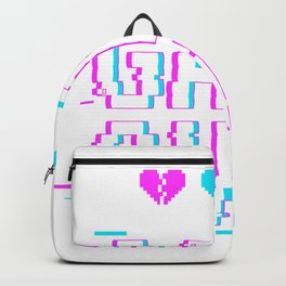 Game Over Yami Kawaii Pastel Goth Backpack