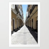 FOREVER AND A DAY IN SPAIN. Art Print